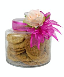 Cookies are sure to be a hit with all who receive this thoughtful gift.
