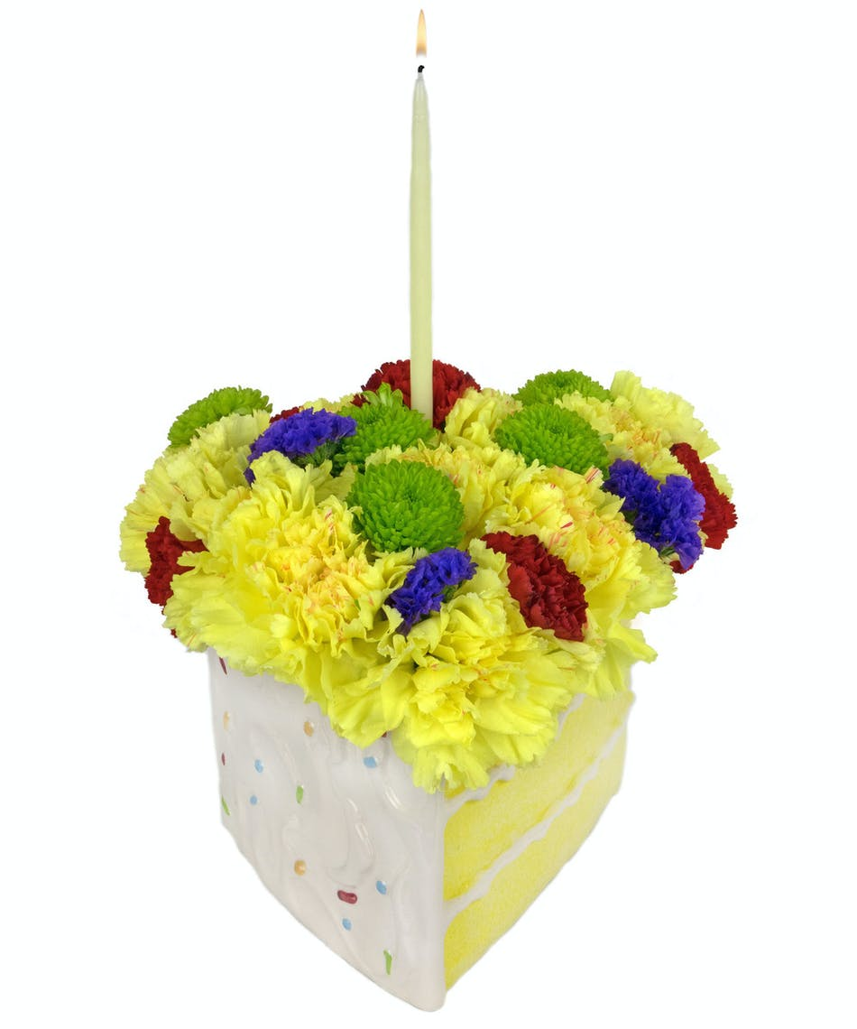 Best flowers for a birthday gallery flower wallpaper hd slice of cake zeidlers flowers evansville indiana the best piece of cake ever filled with flowers izmirmasajfo