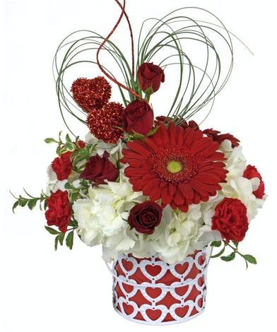 Surprise your valenitne with a special delivery. Send to them at work for all to see!