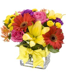 Bright and cheerful for a special delivery to your special someone.