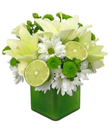 New and fun flowers, limeade is a feature in Zeidler's Summer Collection.
