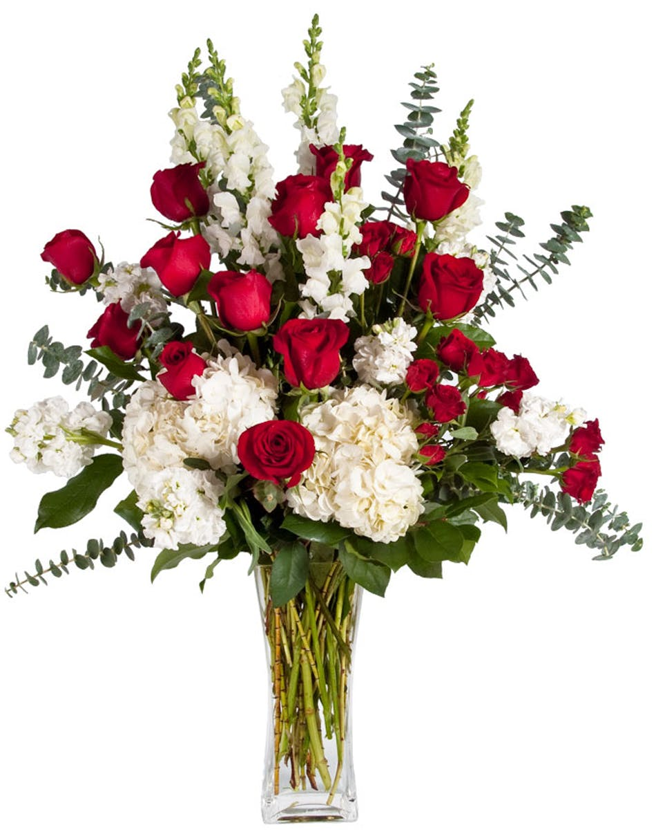 Classic Large Vased Sympathy Arrangement | Zeidler\'s Flowers