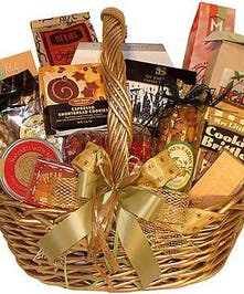 An assortment of gourmet treats arranged and delivered to their door!