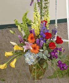 Heavenly Garden - Vased Bouquet