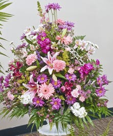 Loving Sentiments - Funeral Basket