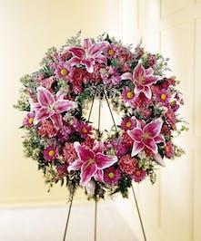 Loving Sentiments - Wreath Display