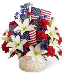 Patriotic - Fresh Basket