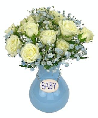 Baby Boy Vase