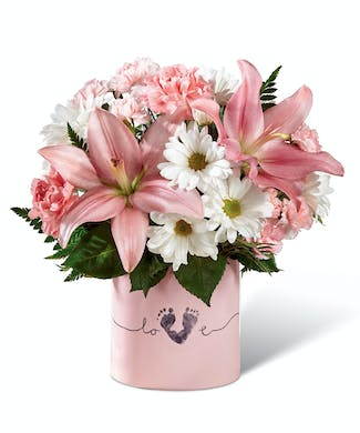 Tiny Miracle Bouquet - Baby Girl