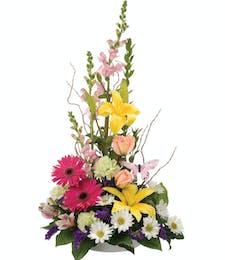 Colorful Table Bouquet