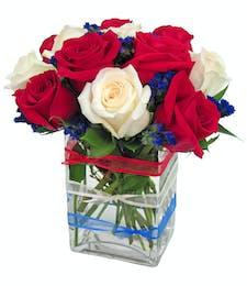 Patriotic - Rose Arrangement