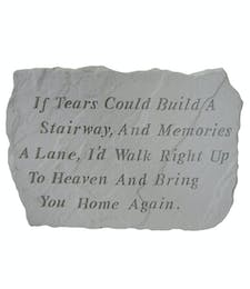 Extra Large Stepping Stone -  If Tears
