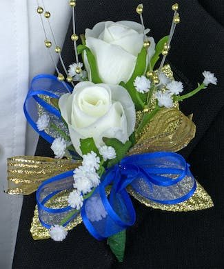 Bluebell Boutonniere