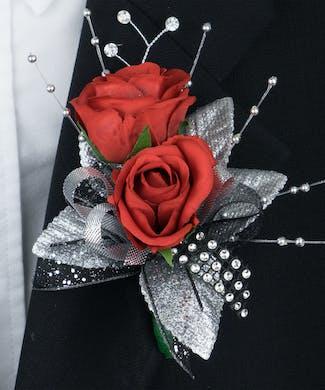 Sparkle & Style Boutonierre
