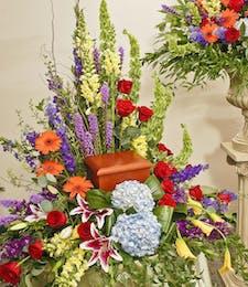 Heavenly Garden - Urn Tribute