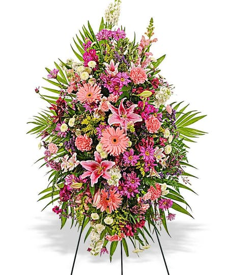 Easels & Floral Sprays