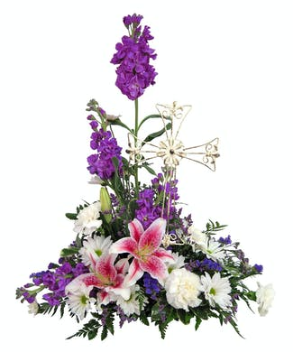 Cross Bouquet